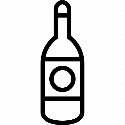 beverages, bottle, container, food, groceries icon