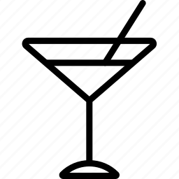 beverages, food, glass, groceries, martini icon