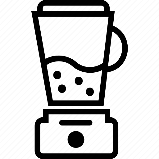 beverages, food, groceries, mixer icon