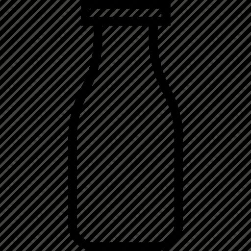 beverages, bottle, food, groceries, milk icon