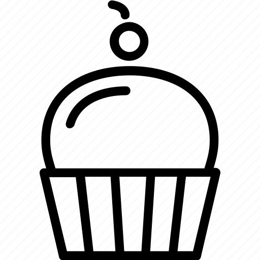beverages, cubcake, food, groceries icon