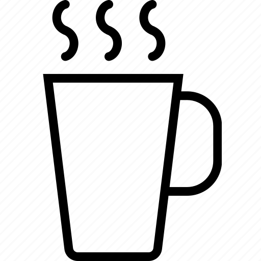 beverages, cup, food, groceries, hot icon