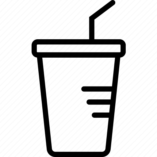 beverages, cup, food, groceries, measurement icon