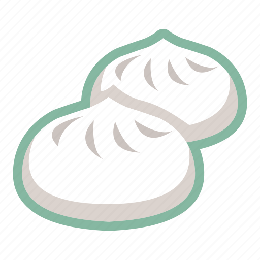 bao, chinese food, dim sum, oriental, steamed buns icon