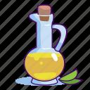 food, meal, oil, olive oil, olives, vegetable, vegetable oil icon