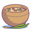 cooking, food, mashed soup, meal, onion, pot, soup