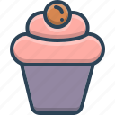 berry, bakery, delicious, cup, cupcake, birthday, cake