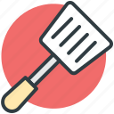 cooking spoon, cutlery, spatula, turning spoon, utensil icon