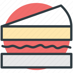 bread sandwich, breakfast, food, sandwich, toast sandwich icon