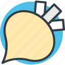food, nutrition, root vegetable, turnip, vegetable icon