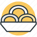 brownies, cookies, dessert, serving dish, snacks icon