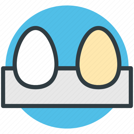 breakfast, eggs, eggs tray, food, protein food icon