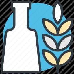 barley, bottle, malt, malt beverage, malt drink icon