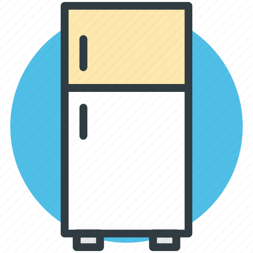 electronics, freezer, fridge, household appliance, refrigerator icon