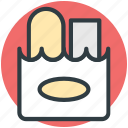 fastfood, food pack, junkfood, snacks, takeaway food icon
