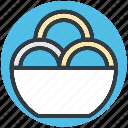 brownies, cookies, dessert, serving dish, snacks icon