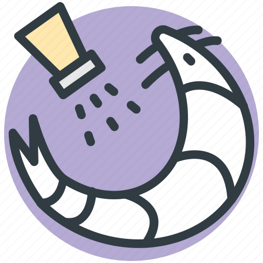 food, prawn, salt shaker, seafood, shrimp icon