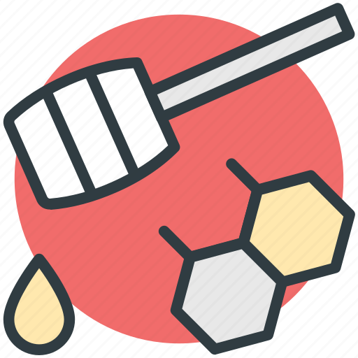 drizzler, drop, honey dipper, honey dripping, honey pouring icon