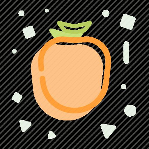 diet, fruit, healthy, iodine, persimon icon