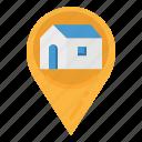 address, home, location, maps, pin