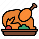 chicken, delivery, food, restaurant