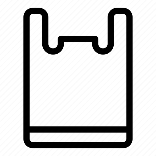 Commerce and shopping, plastic, plastic bag, shopper, shopping, shopping bag, supermarket icon - Download on Iconfinder