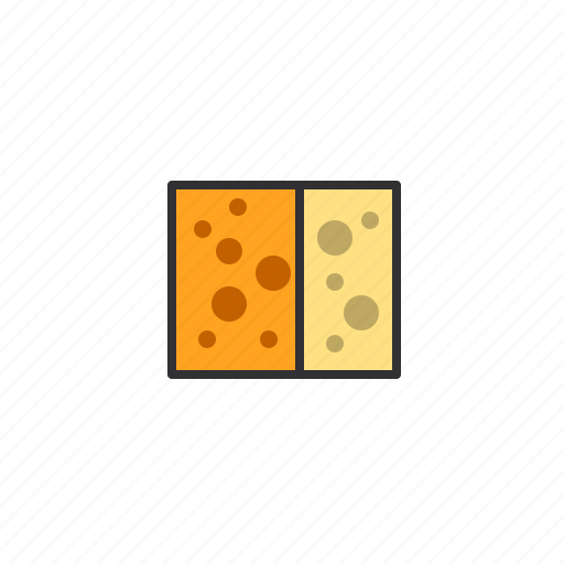 cheese, cube, delicious, food, taste icon
