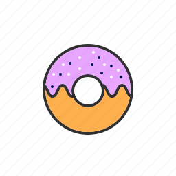 donut, food, pastry, sweet icon