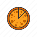 delicious, dinner, eat, food, pizza icon