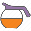 container, cook, jar, jug, juice, kitchen, vessel icon