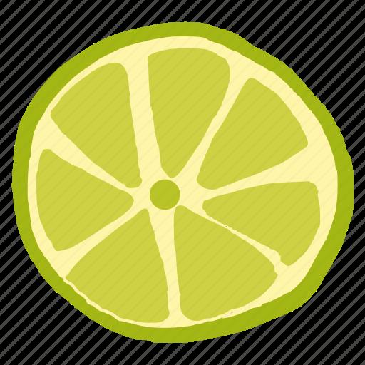 food, fruit, green, healthy, lemon, lime icon
