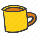 beverage, coffee, cup, drink, mug icon