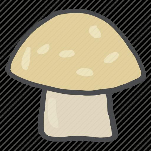d, food, healthy, mushroom, vegetable, vitamin icon