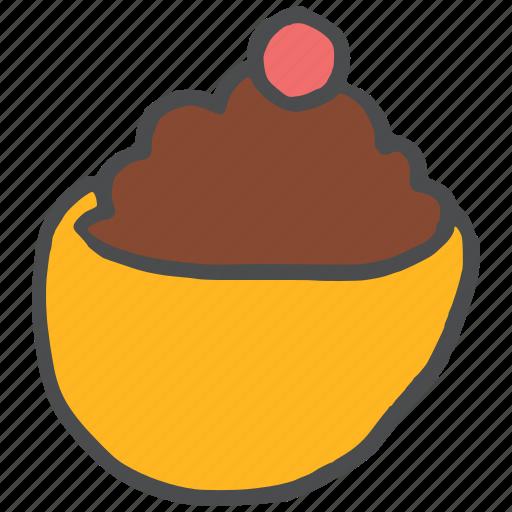 chocolate, dessert, icecream, sweet icon