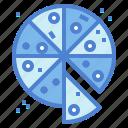 food, italian, junk, pizza icon