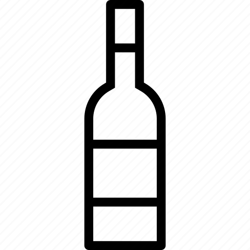 bottle, cafe, drink, restaurant, wine icon