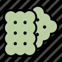 biscuit, biscuits, cookies icon