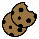 biscuits, cookie, cookies icon