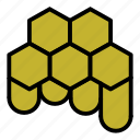 honey, honeycomb, sweet icon