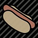 dog, fast, food, hot