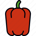 bell, pepper