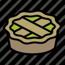 apple, cake, pie