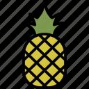 fruit, pineapple