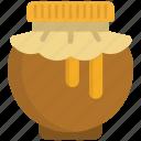 bear, food, healthy, honey, jar, pot, sweet icon