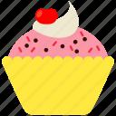 cake, cupcake, dessert, food, muffin, snack, sweet