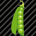 green, healthy, meal, pea, peas, vegetable, vegetarian