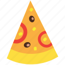 cheese, dinner, food, italian, meal, pizza, slice icon
