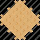 belgian, breakfast, dessert, food, snack, sweet, waffle