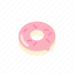 dessert, donut, eat, food, sweet, sweets icon