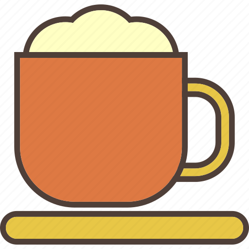 beverage, cappuccino, coffee, drink, hot, mocha icon